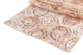 Rental store for Blush Ribbon Embroidered Sequin Runner in Tulsa OK