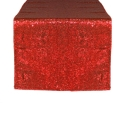 Rental store for Red Sequin Table Runner in Tulsa OK