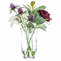 Rental store for Dahlia Water Vase  silk arrangement in Tulsa OK