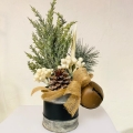 Rental store for Aspen Christmas Centerpiece  cedar, antl in Tulsa OK