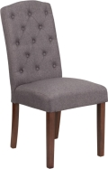 Rental store for Gray Tufted Parson Chair in Tulsa OK