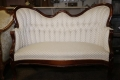 Rental store for Ivory Blue Pattern Parlor Sofa in Tulsa OK