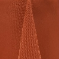 Rental store for 60x120 Burnt Orange Classic Poly Linen in Tulsa OK