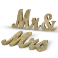 Rental store for Glitter Gold Mr   Mrs Wood Letters in Tulsa OK