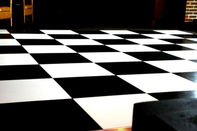 Where to find Black   White Dance Floor 20x20 in Tulsa