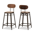 Rental store for Industrial Wood Bar Stool in Tulsa OK