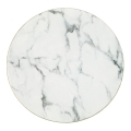 Rental store for Round Marble Charger, gold side in Tulsa OK