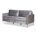 Rental store for Grey Velvet Sofa in Tulsa OK