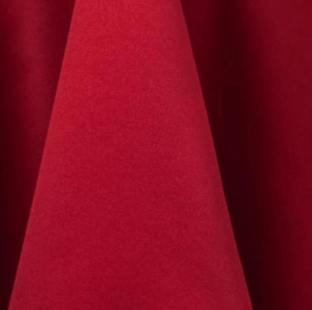 Red Matte Satin Linens Rentals Tulsa Ok Where To Rent