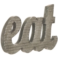 Rental store for EAT Galvanized sign, table top or hang in Tulsa OK