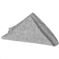 Rental store for Gray Faux Burlap Dinner Napkins in Tulsa OK