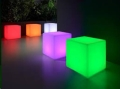 Rental store for LED Lighted Cube. 16 in Tulsa OK