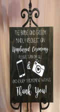 Rental store for Unplugged Ceremony Sign in Tulsa OK