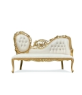 Rental store for Gold Windsor Chaise, 74 long in Tulsa OK