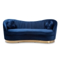 Rental store for Navy Blue Garbo Sofa in Tulsa OK