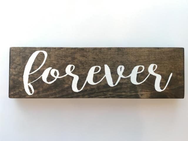 Where to find Wood Table Signs in Tulsa