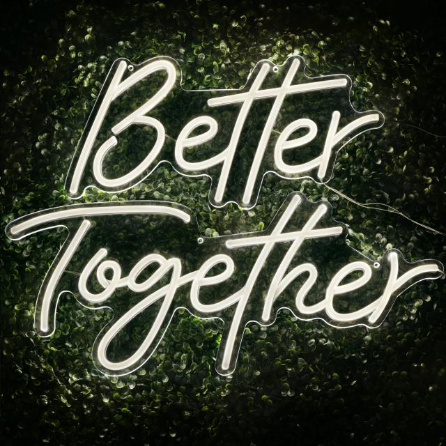 Where to find Better Together Lighted Sign in Tulsa