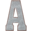 Rental store for Oversized Galvanized Letter A in Tulsa OK