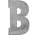Rental store for Oversized Galvanized Letter B in Tulsa OK