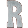 Rental store for Oversized Galvanized Letter R in Tulsa OK
