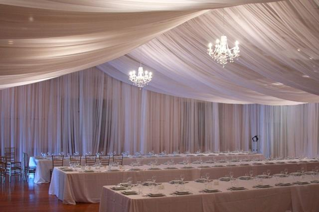 Rent Fabric Draping And Hardware