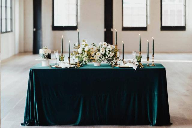 Rent Green & Teal Linen Collection