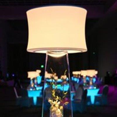 Rent Lighted Lamp Tops
