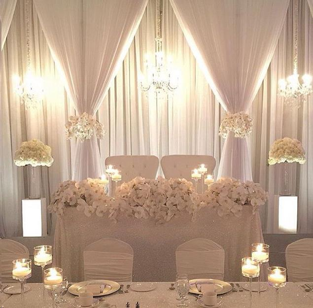 Rent Fabric Draping & Backdrops